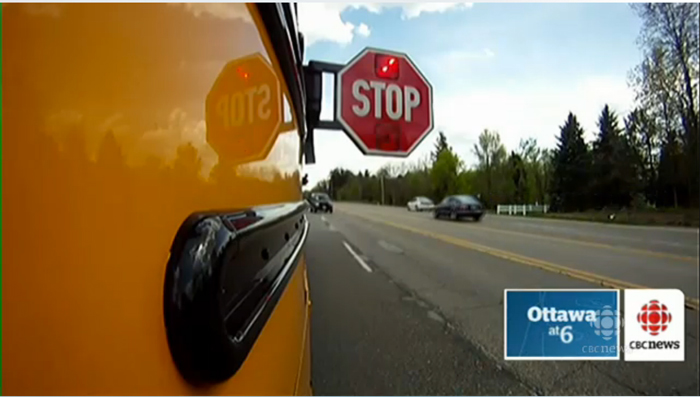 School Bus Camera to catch reckless drivers in Ottawa