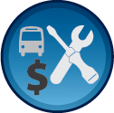 fleet maintenance cost icon