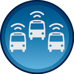 gps fleet tracking icon