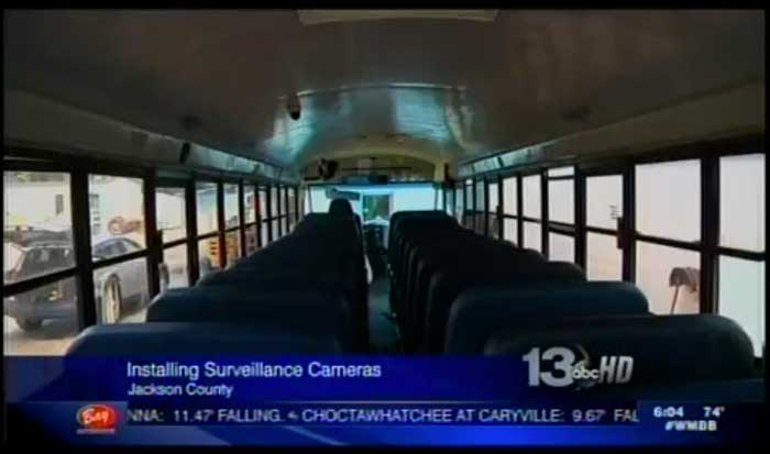 Seon Jackson County upgrades school bus camera system