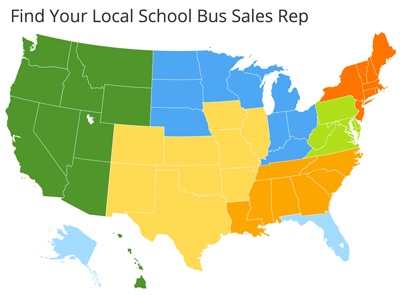 Seon School Bus Reps Map