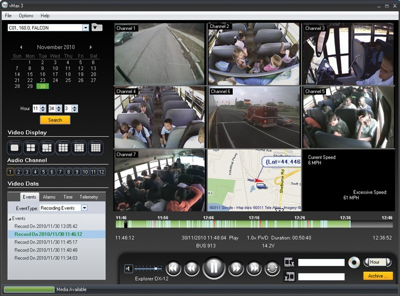 Bus Video Software Vmax 174 View Video Playback Software